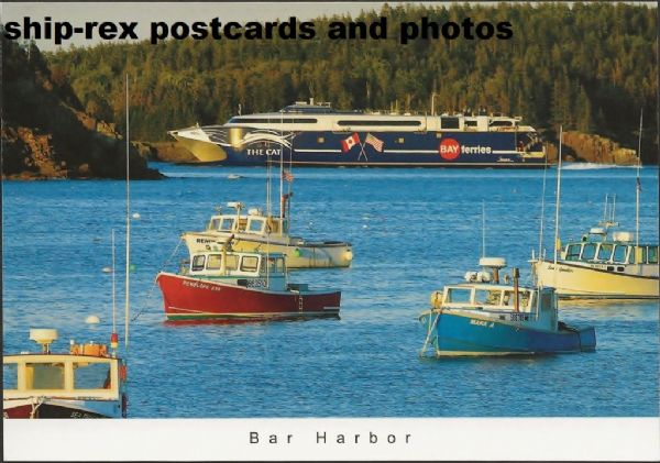 THE CAT (2002, Bay Ferries) postcard